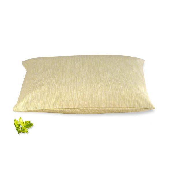 poduszka z orkiszem z listkami dębu